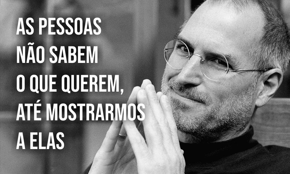 Steve Jobs – Um mestre que você pode fazer como ele
