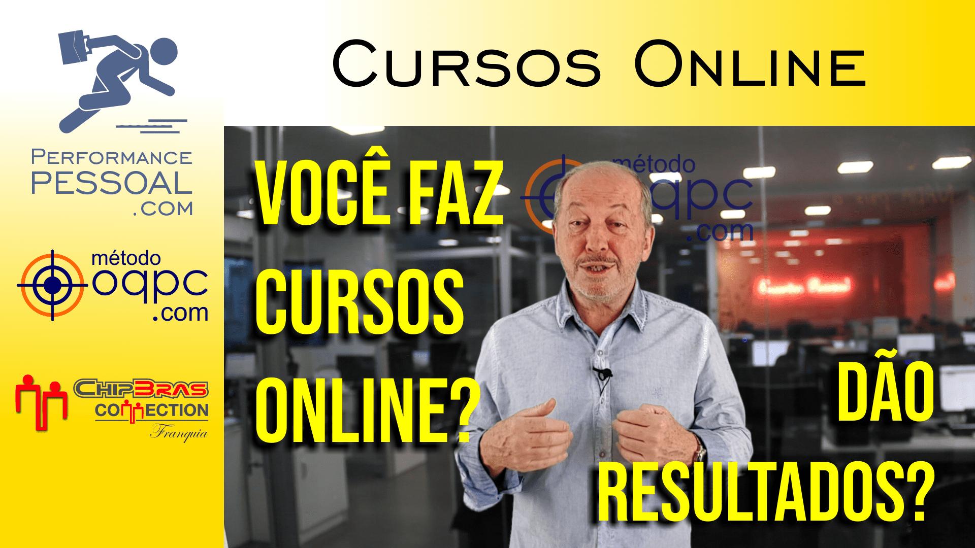 Cursos online não dão resultados